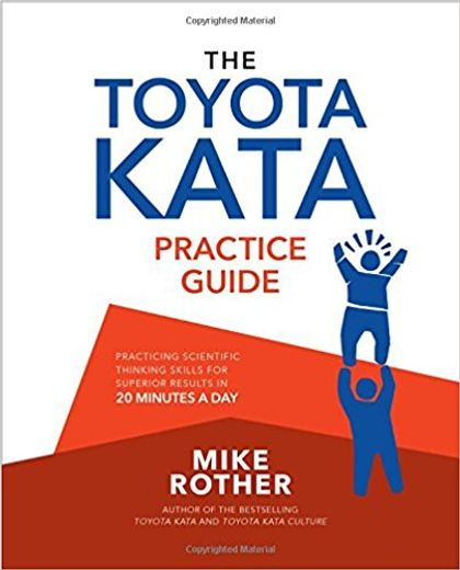 Toyota Kata Practice Guide - Book Cover